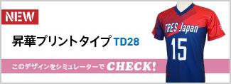 昇華プリントシャツTD28