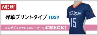 昇華プリントシャツTD29
